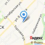 Отдел ГИБДД на карте Киреевска