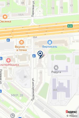АГЕНТСТВО НЕДВИЖИМОСТИ МЕГАПОЛИС на карте Балашихи