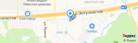 РЕСО-Гарантия ОСАО на карте Балашихи
