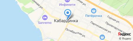 Банкомат Газпромбанк на карте Геленджика