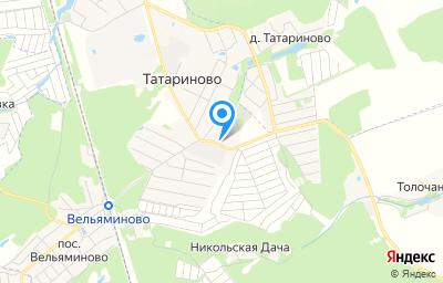 Местоположение на карте пункта техосмотра по адресу Московская обл, г Ступино, с Татариново