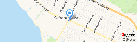 Автовокзал на карте Геленджика