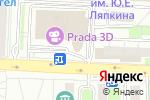 Схема проезда до компании Unavischool в Балашихе