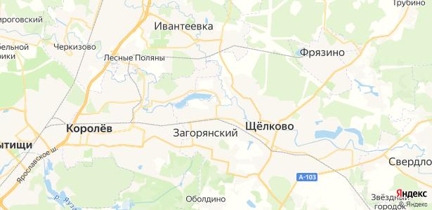 Краснознаменский на карте