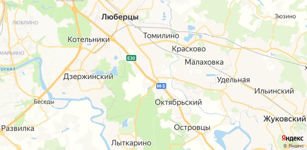 Жилино-1 на карте