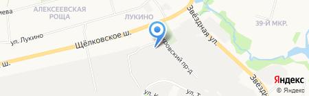 Колорит на карте Балашихи
