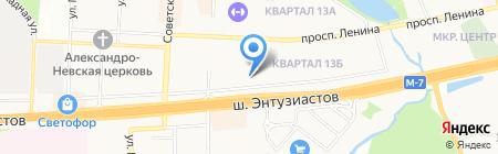 ТехКом на карте Балашихи