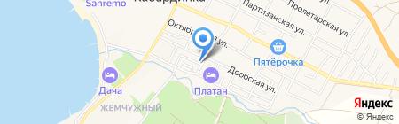 Наталья на карте Геленджика