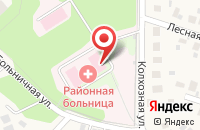 Схема проезда до компании Михневская районная больница в Михнево