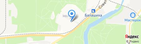 green street на карте Балашихи