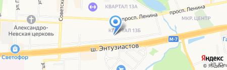 Детский сад №13 на карте Балашихи
