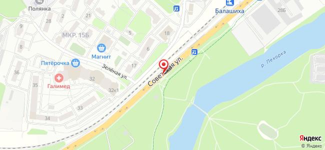 Зелёная (ул. Советская)