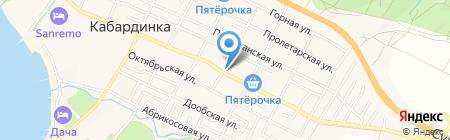 Банкомат Геленджик-Банк на карте Геленджика