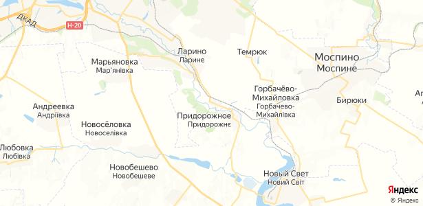 Павлоградское на карте