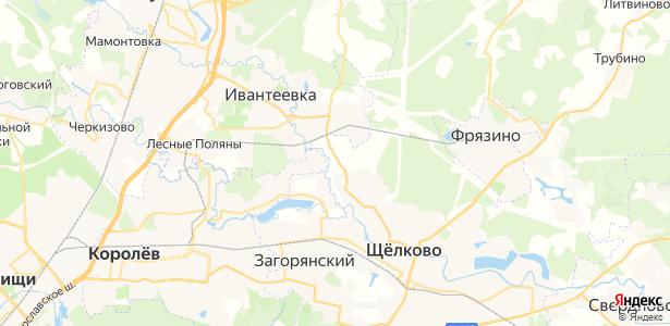 Байбаки на карте