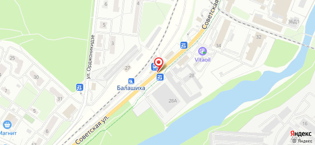 Станция Балашиха