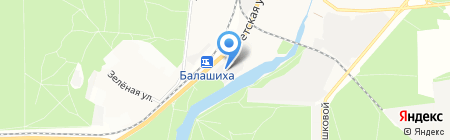 Спал Спалыч на карте Балашихи