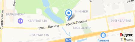 Экспресс-Услуги на карте Балашихи