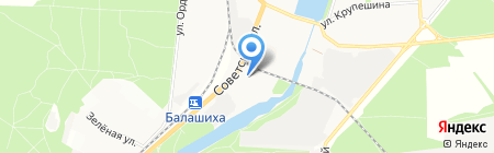 Центр по делам ГОЧС городского округа Балашиха на карте Балашихи