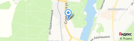 ЭЭГ-ЛАБ на карте Балашихи