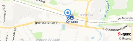 Линзы тут на карте Балашихи