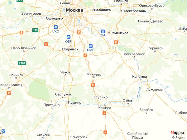 ДНП Речица на карте