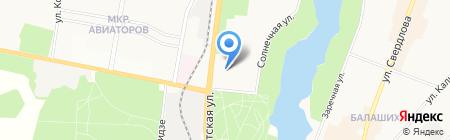 Норма на карте Балашихи