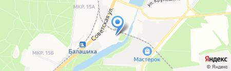 Мособлкнига на карте Балашихи
