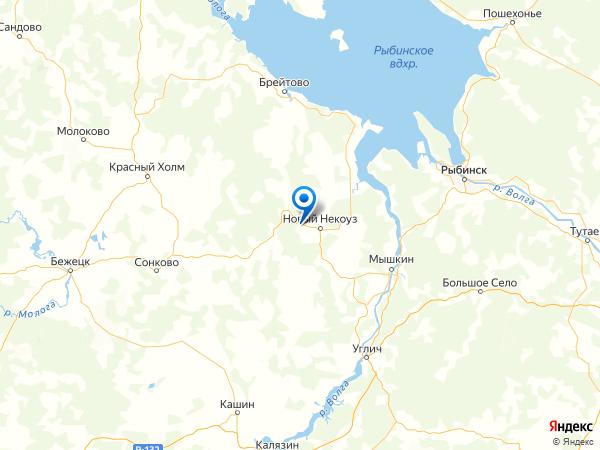 деревня Максимовка на карте