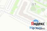 Схема проезда до компании CyberPlat в Люберцах