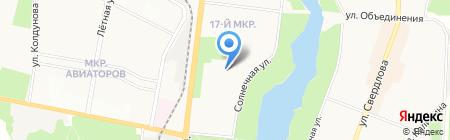 Городская поликлиника №4 на карте Балашихи