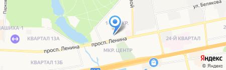 Национальный банк ТРАСТ на карте Балашихи