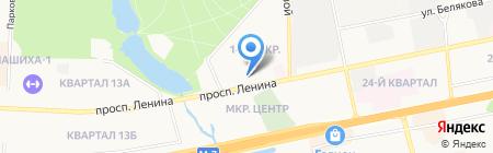 ЛИК на карте Балашихи