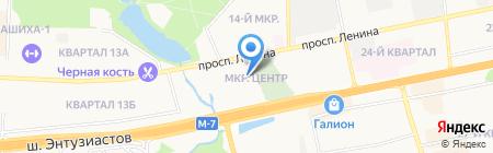 СОПТА на карте Балашихи