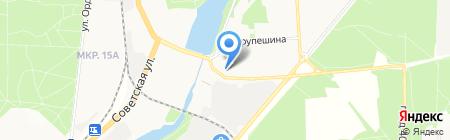 Магазин детской одежды и игрушек на карте Балашихи