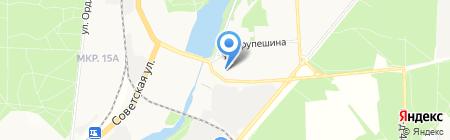 Спорт река на карте Балашихи