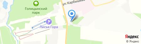 АЗС Трасса на карте Балашихи