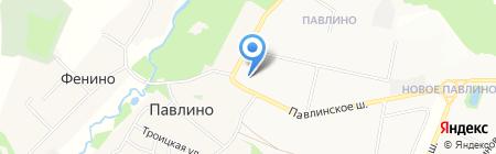Детский сад №21 на карте Балашихи