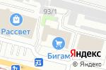 Схема проезда до компании Мебель для Вас в Череповце