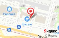 Схема проезда до компании Одэкс в Череповце