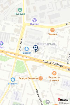 АДВОКАТСКОЕ БЮРО АЛИБИ на карте Череповца