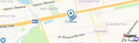 ВСК С на карте Балашихи
