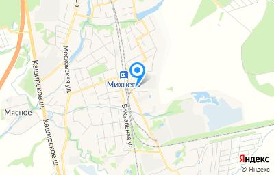 Местоположение на карте пункта техосмотра по адресу Московская обл, г Ступино, рп Михнево, ул Донбасская, д 76
