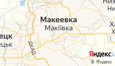 Гостиницы города Макеевка на карте