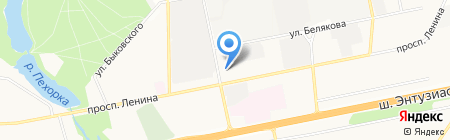 Балашихинский индустриально-технологический техникум на карте Балашихи