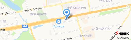 Экспресто на карте Балашихи