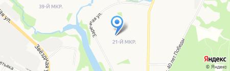 Мориссон на карте Балашихи