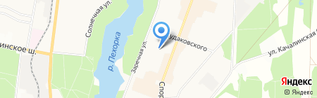 Межмуниципальный комплексный центр социального обслуживания населения на карте Балашихи