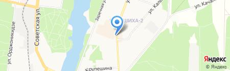 Приосколье на карте Балашихи