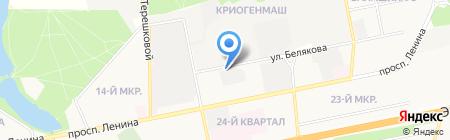Компания по аренде спецтехники на карте Балашихи